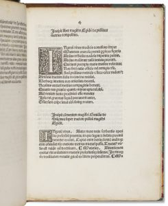 First printed treatise on the pulse