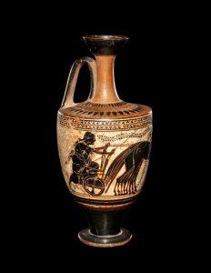 An Attic White-Ground Lekythos