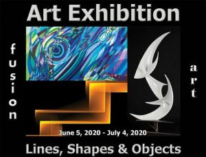 Fusion Art Announces the Winners of the 2nd Annual Lines, Shapes & Objects Art Exhibition