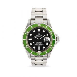 Rolex - A steel wristwatch, Rolex Submariner, ref. 16610LV, with box