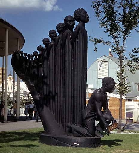 Augusta Savage, The Harp (Lift Every Voice and Sing), 1939 New York World's Fair in Queens. Image from The New York Times.