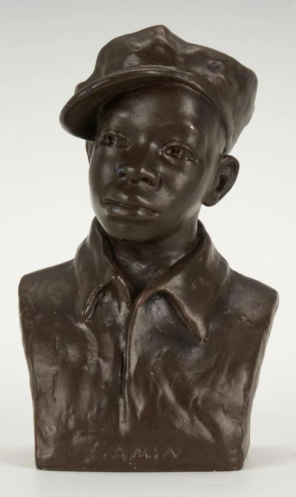 Augusta Savage, Gamin, c. 1929. Image from Case Antiques, Inc.