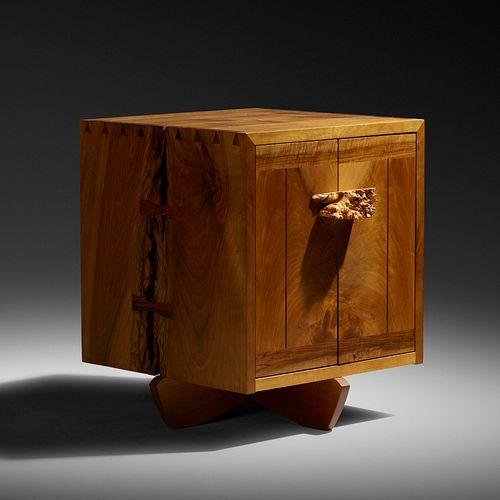 Kornblut cabinet by George Nakashima. Photo by Rago.