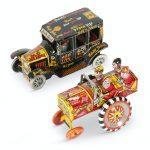 Marx Tin Litho Campus Car Toys