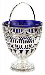 Royal Interest- George III Sterling Silver Sugar Vase