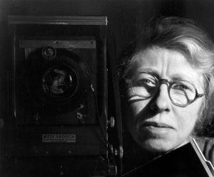 Self Portrait with Korona View, 1933