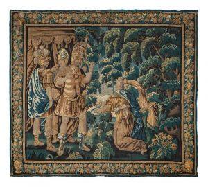 A Flemish Verdure Tapestry