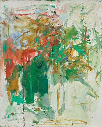 Joan Mitchell, Garden Party, 1961-62. Image from Sotheby's.