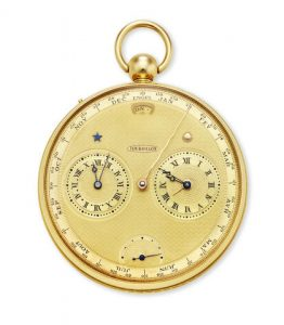 Thomas Engel And Richard Daners, No. 28. A Fine Unique 18k Gold Open Face Keyless Pocket Chronometer