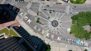 The Black Lives Matter street art that contain multitudes