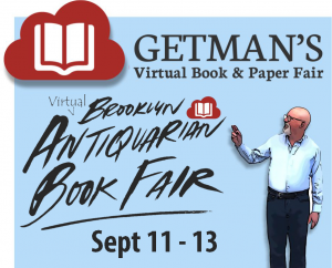 Popular Brooklyn Antiquarian Book Fair Moves Online September 11-13 Webinars Plus Interview with Actor Michael Horse