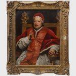 Studio of Anton Raphael Mengs (728-1779)- Portrait of Pope Clement XIII