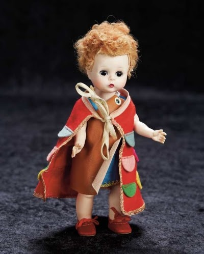 Joseph from the 1954 Biblical series. Photo by Theriault's Antique Doll Auctions.