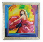 Attr. Peter Max Taylor Swift Acrylic on Canvas