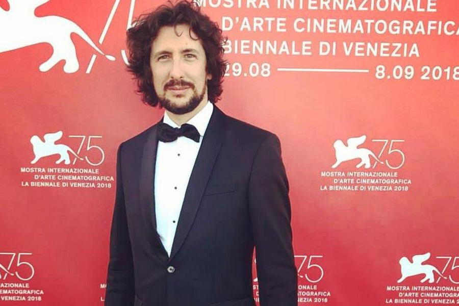 Francesco Gibbi at the 2018 Venice Film Festival.