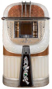 AMI Model A A Mother of Plastic Jukebox. 1946. When switc