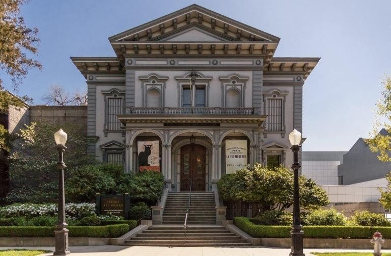 Crocker Art Museum, Historic building   via crockerart.org