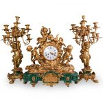 August auction from Akiba Antiques features mantel clocks and decorative art5