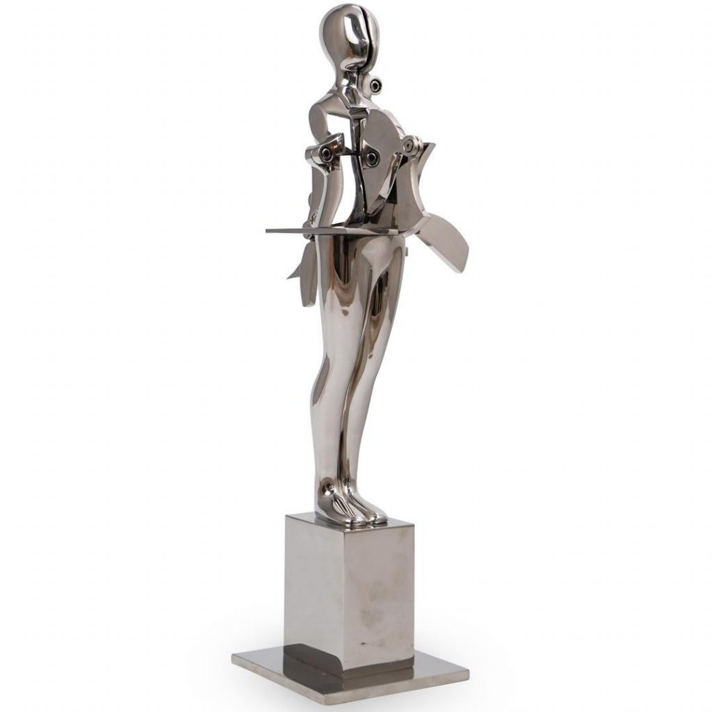 "Ernest Trova (American, 1927-2009) ""Table Man"""