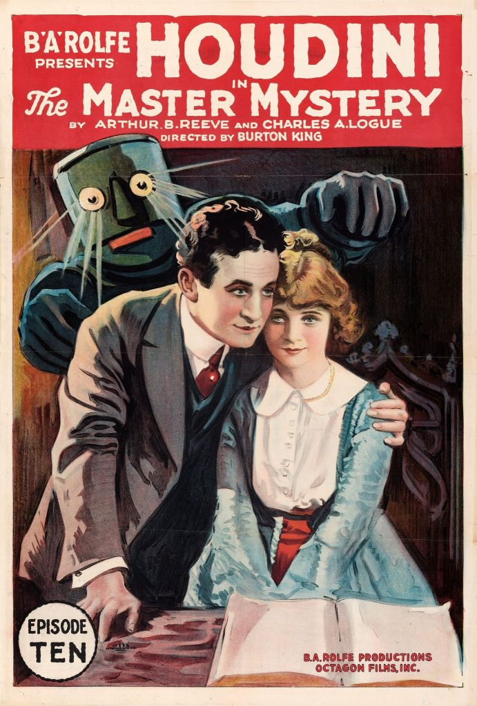 Movie Posters:Serial, The Master Mystery (Octagon, 1919). Folded, Very Fine+.