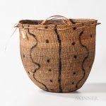 Large Amazonian Burden Basket, Wil