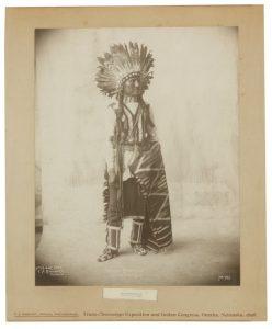 RINEHART, FRANK A. - A Little Chief, Arapahoes. No. 799 — Afraid of Eagle (Sioux). No. 766 — White Buffalo, Cheynees. No. 785. Omaha, Nebraska, 1898