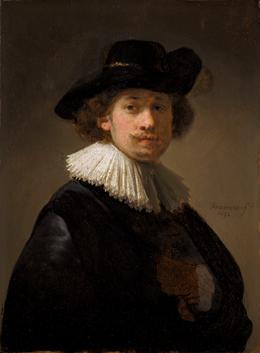 Rembrandt, Self-Portrait, 1632 Courtesy: Sotheby's