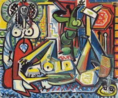 Pablo Picasso, Les femmes d'Alger (Version 'F'), 1955 Courtesy: Christie's
