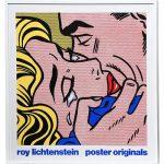 Roy Lichtenstein, silk screen poster