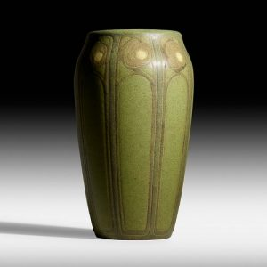 Arthur Hennessey and Sarah Tutt for Marblehead Pottery, Exceptional and Rare vase