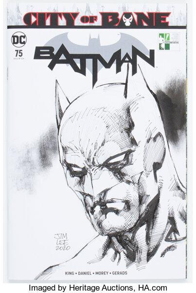 Hero Initiative Batman 100