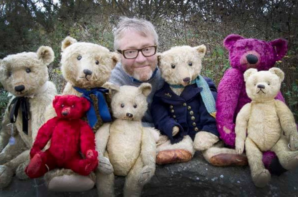 Daniel Agnew, SAS' Doll and Teddy Bear Specialist Consultant. Photo courtesy of Special Auction Services.