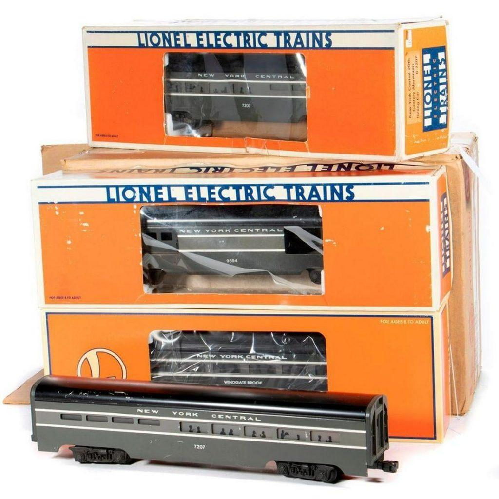 O Gauge Lionel New York Central Aluminum Streamliner