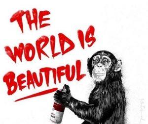 Mr. Brainwash new Edition Published The World Is Beautiful Galerie Frank Fluegel