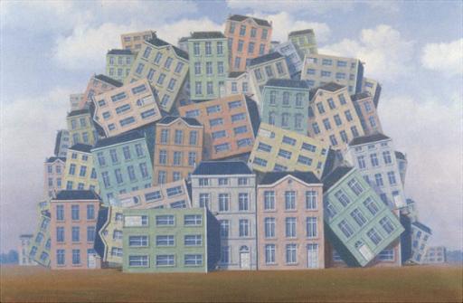 René Magritte, La Poitrine, 1961. Image from Mariateresa Aiello.