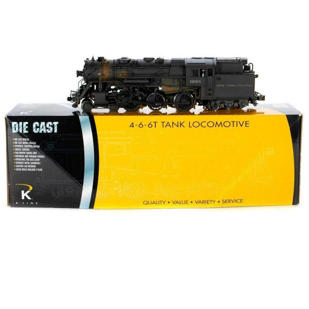 O Gauge K-Line KW3470-1295CC NYC Suburban Tank