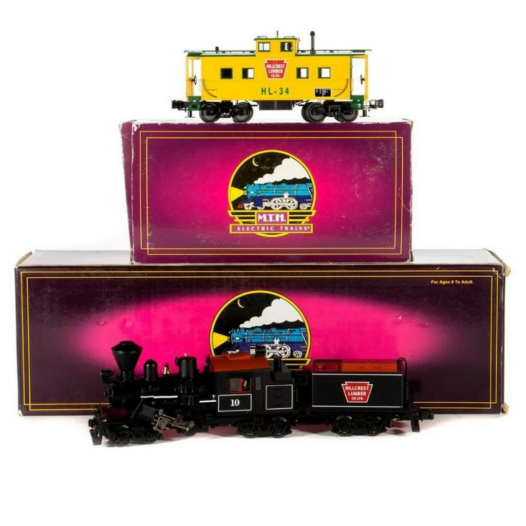 O Gauge MTH 20-3039-1 Hillcrest Lumber Company Climax