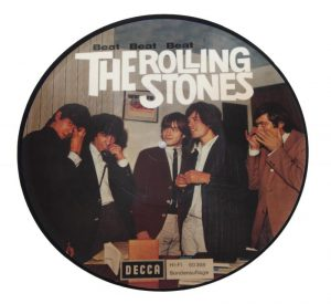 BILL WYMAN ROLLING STONES PICTURE DISC