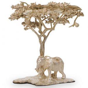 Patrick Mavros Elephant Sterling Silver Ashtray