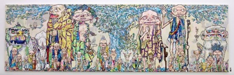 Summer Solo Exhibition of New Works by Takashi Murakami Presented by Blum & Poe in Ibiza