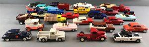 Group of 28 die cast vehicles