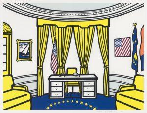 Political screen-print by Roy Lichtenstein will headline Neue Auctions next online auction, August 22nd