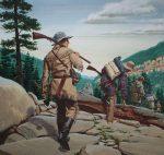 Ed Vebell (1921 - 2018) Daniel Boone