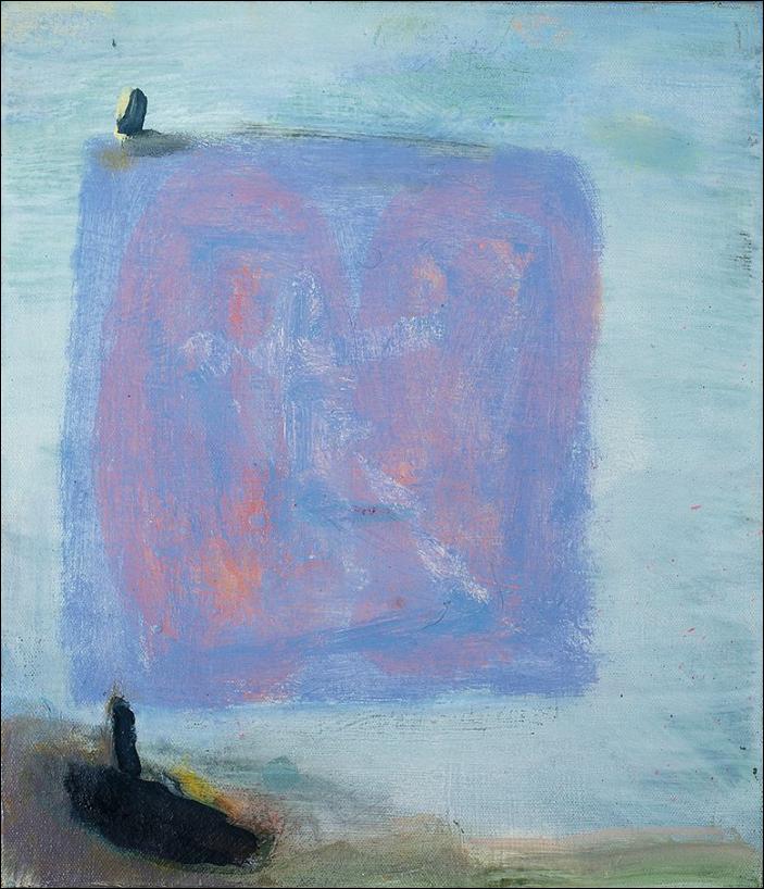Katherine Bradford, Sail Boat, 2011. Image from Barridoff Galleries.
