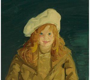 Monhegan Museum Acquires George Bellows Portrait of Museum Co-Founder as a Child