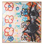 Karel Appel. In Between the Flowers