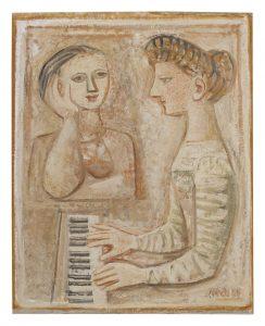 MASSIMO CAMPIGLI - FEMMES AU PIANO (DONNE AL PIANOFORTE)