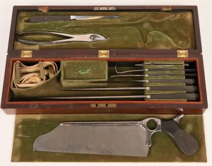 Civil War-era military amputation kit sells for $5,000 at Holabird's Great American Pow-Wow Auction held August 27-31