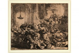 20 etchings and engravings by Rembrandt on view at the San Diego Museum of Art