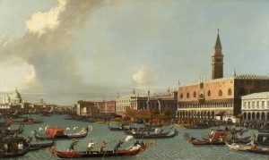 Venice Painting by follower of Canaletto leads Chorleys September Sale